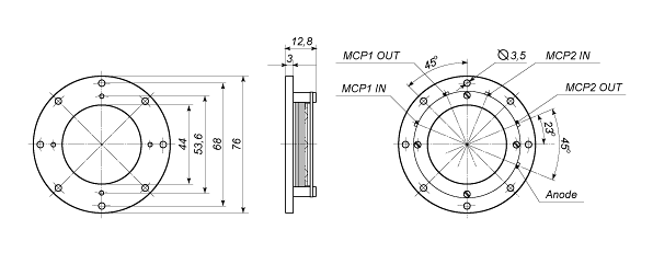 detector with mcp 50